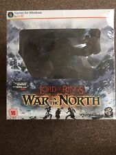 PC/DVD LORD OF THE RINGS War In The North Collectors Edition RARE! NEW! SEALED!