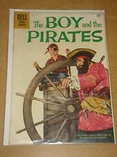 FOUR COLOR #1117 FN/VF (7.0) DELL COMICS BOY AND THE PIRATES JUNE 1960
