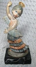 Vintage Fontanini Depose Italy Figurine Simonelli Carrara Marble Spider 435