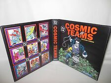 Custom Made Cosmic Teams Trading Card Album Binder Graphics Only