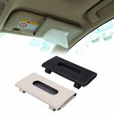 Car Microfiber Leather Tissue Box Napkin Paper Towel Case Holder For Benz Audi