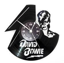OROLOGIO DA PARETE ARTIGIANALE - DISCO VINILE - ROCK POP DUCA BIANCO DAVID BOWIE