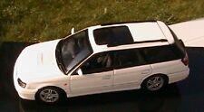 SUBARU LEGACY GTB 1999 BLANCHE AUTOART 58622 1/43 WEISS WHITE BIANCA DIE CAST