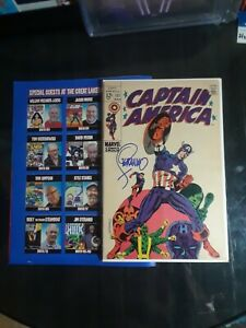 Captain America 111 signed by Legendary Jim Steranko. For Sale as is no returns.