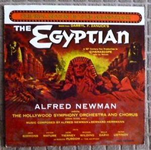 Alfred Newman/Bernard Herrmann - The Egyptian - U.S 1977 Repress - NM Vinyl LP