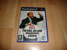TOTAL CLUB MANAGER 2004 CON VICENTE DEL BOSQUE PARA LA SONY PS2 NUEVO PRECINTADO