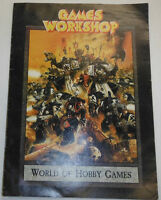 Games Workshop Magazine World Of Hobby Games 1998 092014R