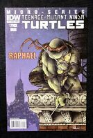 TMNT Teenage Mutant Ninja Turtles Micro Series Raphael #1 Comic 1st Alopex 2011