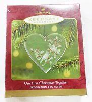 Hallmark keepsake christmas ornament our first christmas together