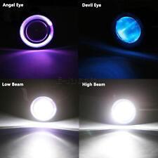 Headlight Purple Angel Blue Demon Eye fit for Suzuki GSXR 600 750 1000 Hayabusa