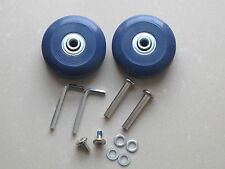 2 Sets Luggage Suitcase Replacement Wheels Axles Deluxe Repair OD 56mm