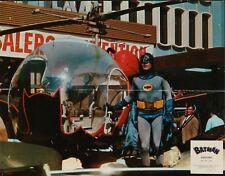 BATMAN THE MOVIE (1966) French Lobby card #4 (9x11.5) ADAM WEST SUPER RARE