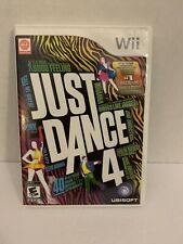 Just Dance 4 Nintendo Wii Complete Tested!