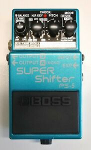 BOSS PS-5 SUPER Shifter Guitar Effects Pedal 2002 #52 DHL Express or EMS