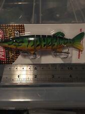 130 mm multi articulé dur pêche leurre appât segment Articulé Pêche à Pike