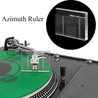 New Azimuth Ruler Measuring Phono Tonearm Balance Instrument Adjustment Tools