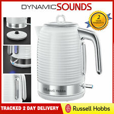 Russell Hobbs 24360 Inspire Kettle Limescale Filter Rapid Boil 1.7L 3kW - White