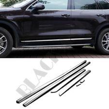 For Porsche Cayenne 2011 2012 2013-2017 Stainless Steel Body Adron Strip Trim