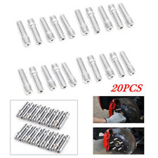 20X Rim Wheel Conversion Converter Adapter Bolts Studs Instrument Forged Steel