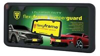 FlexyFrame Rubber Front License Plate Bracket Frame Tag Holder Guard for Toyota