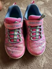 Girls Sketcher Trainers Size 13