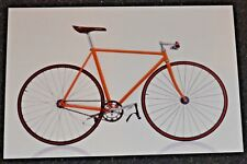 Classic Bicycle MESSENGER BIKE  Postcard new