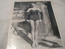 "Vintage 1952 USO Showgirl Pinup Korean War ""Show Shop Rebels"""
