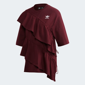 Adidas Women's Frilled Tee Shirt, Color Options