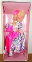 NRFB Vintage Mattel Barbie Style Collector Doll 1990 Limited Edition Damaged Box