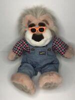 Real Talkin Bubba Talking Bear Plush Toy Stuffed Animal 1998 Tyco Not Working