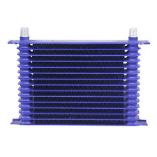 15 ROW AN-10 ALUMINUM ENGINE POWDER-COATED TRANSMISSION OIL COOLER
