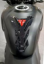 Paraserbatoio in resina 3D per moto compatibile Triumph Trident 660 union jack