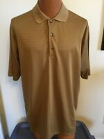 Haley Signature XL Brown Short Sleeve Polyester Casual Shirt