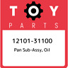12101-31100 Toyota Pan sub-assy, oil 1210131100, New Genuine OEM Part
