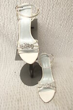 572 GRAZIA SASHA F93649 IVORY HIGH HEEL WEDDING BRIDAL SHOEs  PUMP 7 1/2  $170