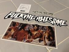 Rare Lot Of 4 F-King Awesome skateboard sticker Supreme vinyl Ave Dylan