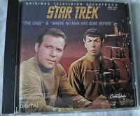 Star Trek Original TV Soundtrack CD The Cage & Where No Man Has Gone Before