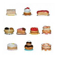 Fèves de collection en porcelaine _ Petites pâtisseries _ Série complète 10 Feve