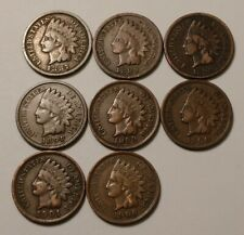 8 Indian Head Cents 2704