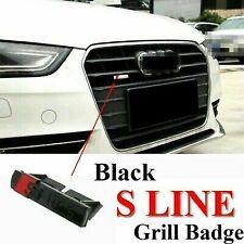 S line emblème Grill Audi A3 A4 A5 A6 Q3 Q5 Q7 B7 B8 C5 S6 TT TTRS TFSI Quattro