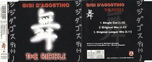 Gigi D'Agostino - The Riddle (3 Track Maxi CD)