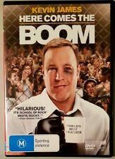 Here Comes The Boom (Kevin James & Salma Hayek) DVD (Region 2/4/5)