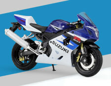 1:18 Welly SUZUKI GSX R750 Motorcycle Bike Model Blue