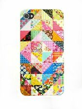 ►► Coque IPHONE 4 / 5 ou 5C // Motif Patchwork géométrique n°4 !! Art case cover