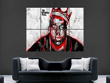 THE NOTORIOUS BIG BIGGIE SMALLS BIGGY GIANT WALL POSTER ART PICTURE PRINT LARGE