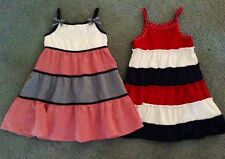 2 4th JULY SUMMER DRESSES AMERICAN GORGEOUS SZ 4-5