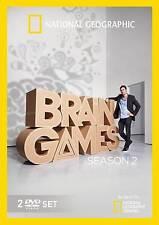 Brain Games: Season 2 (DVD, 2013, 2-Disc Set) FREE SHIPPING