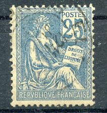 TIMBRE FRANCE OBLITIERE TYPE MOUCHON N° 118 / Photo non contractuelle