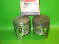 YAMAHA YR1 YR2 YR2C PISTONS AND RINGS 1ST OVER NOS OEM
