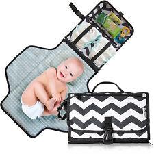 Bébé portable pliant Diaper Changing Pad Imperméable Mat Sac Kit Voyage Stockage